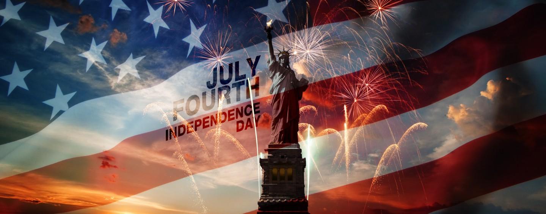 Поздравляем с праздником Независимости США!