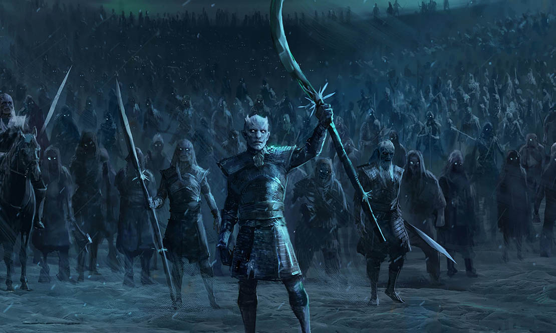 Объявлен график показа финального сезона «Игры престолов»